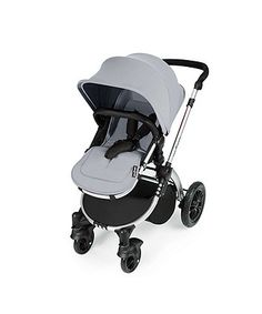 Ickle Bubba Stomp v3 All in One with Isofix Base Travel System - Silver on Silver Frame | prams & pushchairs | Mothercare