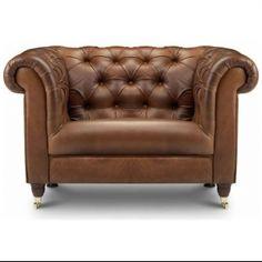 Bamford Chesterfield Leather Armchair