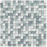 "Found it at Wayfair - Crystal Stone II 12"" x 12"" Glass Square Mosaic in Pearl"