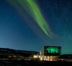 Iceland or outer space? Regardless, take me there! Ion #Luxury #Adventure #Hotel is a stunning and innovative hotel situated in one of Iceland's most breathtaking natural settings. #Iceland
