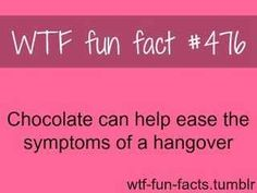 Chocolate is awesome!