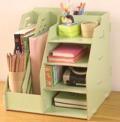 Diy Desk organizer Lovely Diy Multifunctional Wood solid Desktop organizer – All About DIY