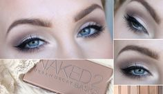 URBAN DECAY NAKED 2BASICS everyday makeup tutorial! - Helen Torsgården