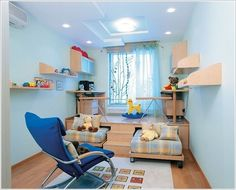 Do you have limited space in your house and you have to allocate a space for your kids study area in their bedroom? If yes then view these ideas and get in