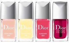 New Cosmetics, Cosmetics & Perfume, Make Up Collection, Nail Polish Collection, Summer Collection, Dior Beauty, Beauty Nails, Makeup Trends, Beauty Trends