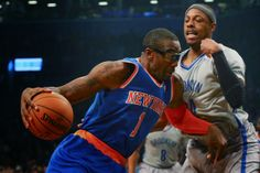 #Knicks were able to defeat the #Nets Tuesday night to take the season series and the #BattleOfTheBuroughs. #NBA