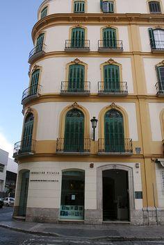 Picasso nació aquí #Malaga, Spain.