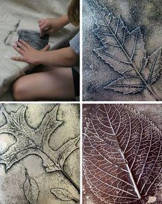 DIY Fall Leaf Art: