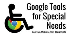 Technology can be a powerful tool to assist students with special needs or any sort of learning challenge. In particular the Chrome web browser allows users to install a wide variety of web extensions that provide tools that can help all learners, regardless of ability level. In this blog post we will take a look at 21 Chrome web extension...