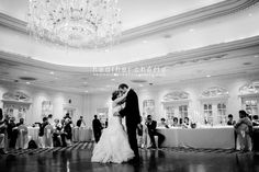 Southern #wedding setting to share the first dance at the #Magnolia #Ballroom at Gaylord #Opryland Resort. Photo credit: Heather Cherie Photography