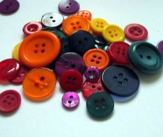 Bright Selection Mixed Shape Buttons,