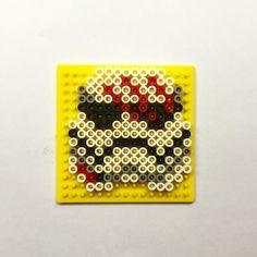 Star Wars first order Finn | perler beads | Hamas beads