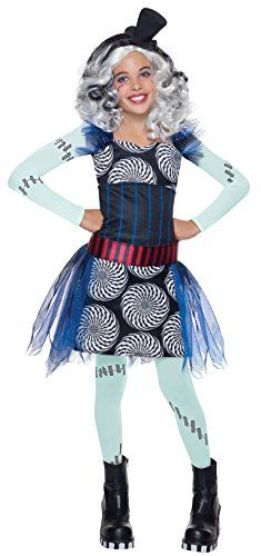 rubies costume monster high freak du chic frankie stein child costume small see this great image halloween costumes for boys - Halloween Costume Monster