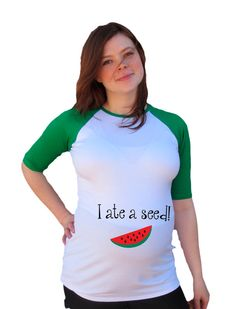 summer maternity funny maternity shirt i ate by djammarmaternity