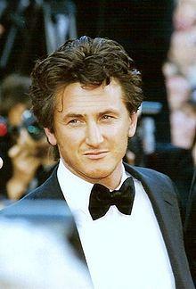 Sean Penn au festival de Cannes 1997.
