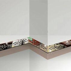 Wysokiej jakości kreatywny lustro naklejki linii talii listwy sufitowe TV naklejki ścienne dekoracje 3D naklejki ścienne lustro