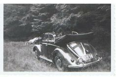 Early Cabriolet Volkswagen, Vw Cabrio, Kdf Wagen, Simile, Vw Beetles, 4x4, Porsche, Classy, Black And White