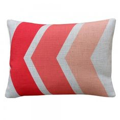 Work space Red This Way Cushion Cover