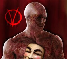 V unmasked Vendetta | for Vendetta-Behind the mask by maddiecristea