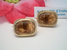 Vintage Sarah Coventry Warm Amber & Gold Tone by ALEXLITTLETHINGS, $18.23