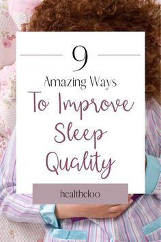 Sleep is one of the most important components of maintaining good health, lack of sleep affects the entire body, and we often underestimate its severity. Today, almost everyone knows what is meant by lack of sleep, disturbed sleep and sleep, insomnia. #sleep #sleepquality #sleephygiene #insomnia Women's Health, Health And Wellbeing, Health Tips, Healthy Mind And Body, Healthy Sleep, Can't Sleep, Baby Sleep, Habit Formation, Natural Sleep Remedies