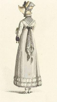 1814 Walking Dress 2