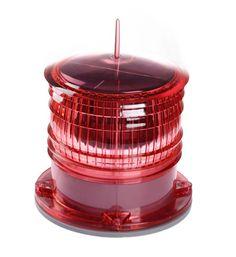 marine navigation light red flashing