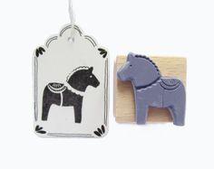 "Stempel ""Pferd"" // stamp by nuukk via DaWanda.com"