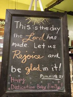 Coffee Shop Scripture Sunday, Sept. 29, 2013 This is the day the Lord has made Psalm 118:24
