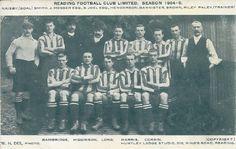READING FOOTBALL CLUB 1904/05