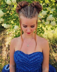 Kids Curly Hairstyles, Pretty Hairstyles, Braided Hairstyles, Wedding Hairstyles, School Hairstyles, Braided Ponytail, Updo Hairstyle, Everyday Hairstyles, Goddess Braid Styles