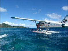 Fiji Transportation: They use a lot of float planes.