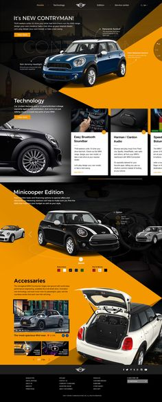 Minicooper Web renewal Design