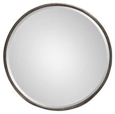 Celina Wall Mirror, Graywash