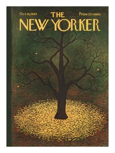 New Yorker Fall Covers Prints at the Condé Nast Collection