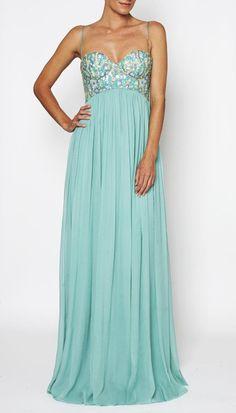 wayyyy expensive but so pretty! TEAL 12RG6563 | SONYA GOWN | | Clothing | Rachel Gilbert