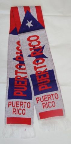 Puerto Rico Flag Estado Libre Asociado De Puerto Rico Scarf Scarves by PR. $9.99. THIS NEW PUERTO RICO FLAG  SCARF. IT HAS PUERTO RICO WRITTEN ON BOTH SIDES OF THE SCARF ALONG AS AT BOTH BOTTOMS. THE PUERTO RICO FLAG IS RIGHT IN THE MIDDLE.