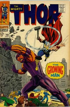 Cover for Thor (Marvel, May 1967) #140