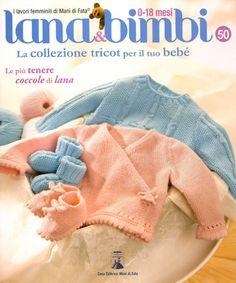 Lana e bimbi #50 da Mani di Fata - Libri e Riviste - Ricamo - Casa Cenina