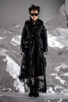 Moncler 4 Simone Rocha Autumn/Winter 2018 Ready To Wear | British Vogue