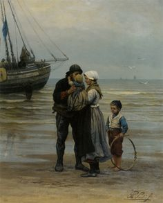Philippe Lodowyck Jacob Sadee, The Farewell