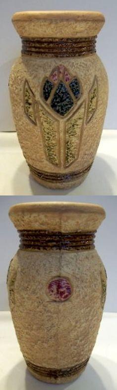 """Roseville Pottery, Mostique, 10"""" vase"""