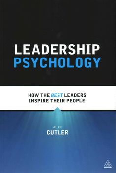 Based on case studies and interviews with leaders from public and private organizations and from various industries, Leadership Psychology explores the relationships between leaders and followers from