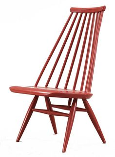 Mademoiselle lounge chair designed by Ilmari Tapiovaara.