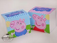 Lembrancinhas Personalizadas - Peppa e George Pig