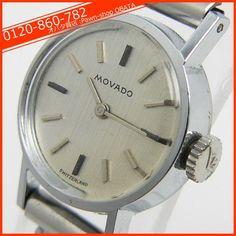 Movado 中古アンティーク品モバードレディース腕時計手巻 Watch Antique ¥20000yen 〆09月21日