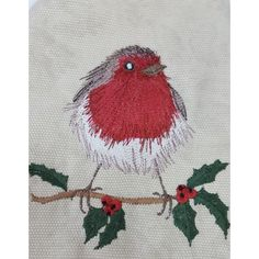 Scruffy Christmas Robin