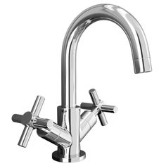 Pablo Modern Basin Mixer with Click Clack Waste - Chrome