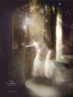 Fairy Gifts Christmas fairy Print ' by CharlotteBirdfairies Fantasy World, Fantasy Art, Illustrations, Illustration Art, Christmas Fairy, Christmas Star, Kobold, Fairy Gifts, Fairy Pictures
