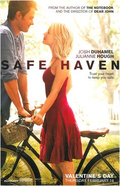 Remember to bring tissues when you watch Safe Haven!